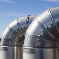 Silvered Pipeline.