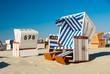 Strandkorb am Meer 323