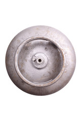 Gas cylinder top view