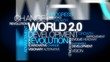 World 2.0 development change word tag cloud animation video