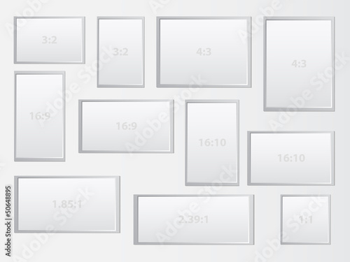 Aspect Ratio Of Different Displays