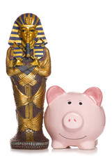 saving for an Egyptian holiday cut out