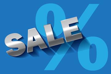 Sale blau türkis SILBER Prozent