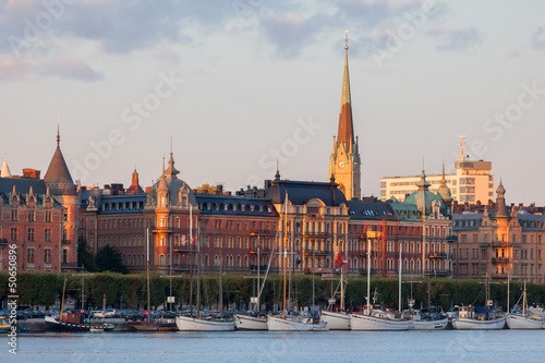Views of the historic center of Stockholm