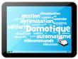 Nuage de Mots : Domotique dans tablette
