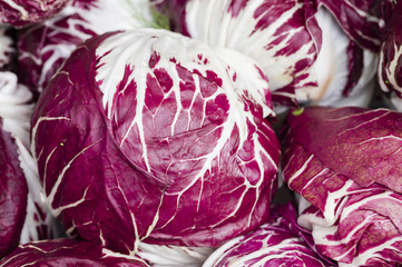 radicchio red salad