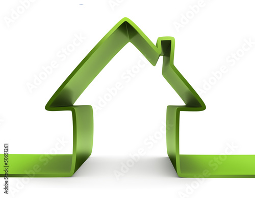 abstract green house