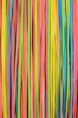 small rubberband strips vertical pattern