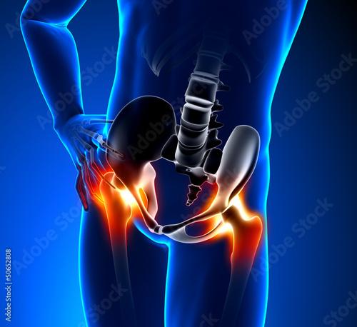 Hip Pain Male