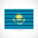 Kazakhstan siding produce company icon
