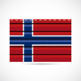 Norway siding produce company icon