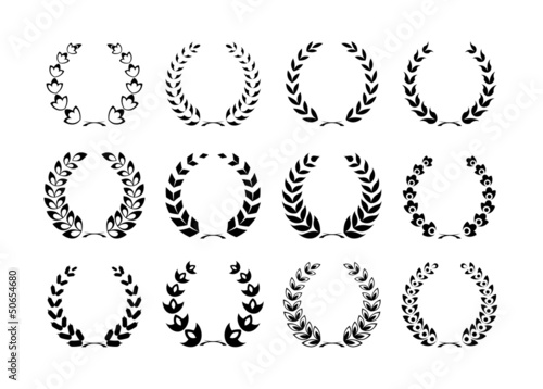 collection of Laurel wreaths