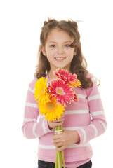 kid gift of flowers