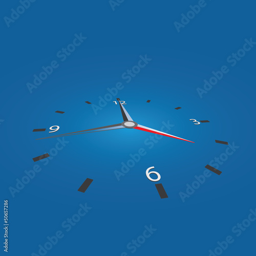 Vector clock / deadline background