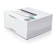 Laser printer print