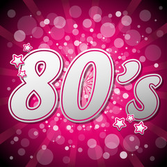 Pink 80's