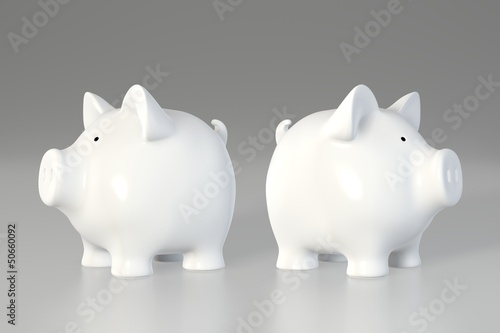Piggy bank - different directions