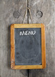 vinatge chalkboard menu, free space for your copy