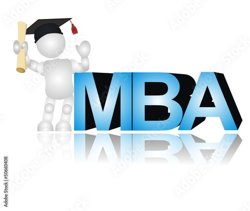 3D - people - M.B.A. (Master of Business Administration)