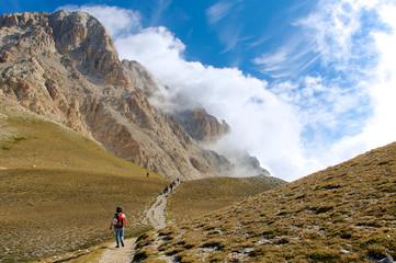 High Trail Corno Grande Gran Sasso L'Aquila Italy