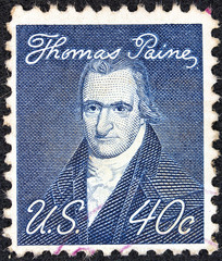 Author Thomas Paine (by John Wesley Jarvis) (USA 1968)