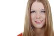 Hübsches Mädchen mit langen Haaren - pretty girl with long hair