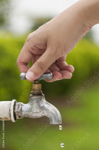 Water saving