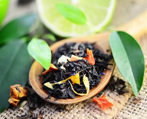 Tee, Limette