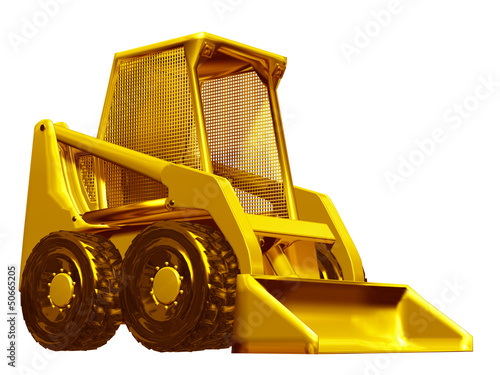 Skid steer loaders made of gold