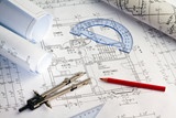 Bauplan eines Wohnhauses. Hausbau - 50665478