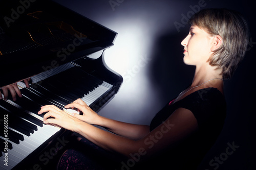 Piano playing pianist player.