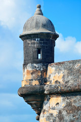 El Morro castle at old San Juan