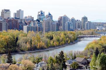 Calgary from McHugh Bluff Park