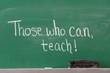 Educational Inspirational Phrase