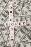 Corporate Greed and Money poster