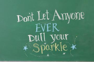 Inspirational Phrase