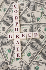 Corporate Greed and Money