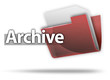 "3D Style Folder Icon ""Archive"""