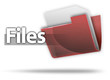 "3D Style Folder Icon ""Files"""