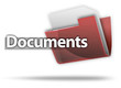 "3D Style Folder Icon ""Documents"""