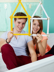 Couple dream of building a house