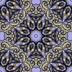 Lilac seamless pattern