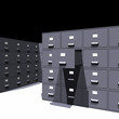 Archivist room (3D)