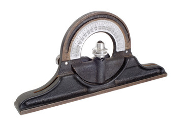 Antique clinometer