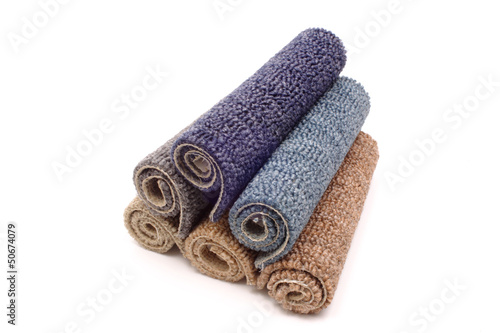 Carpets in a pile