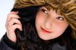 Girl with hood