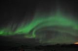 Fototapeta Amazing aurora borealis