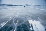 Fototapety Winter ice road