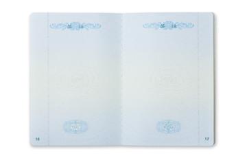 The empty of China passport