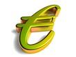 3D Goldzeichen - Eurozeichen